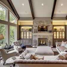 warm inviting and absolutely gorgeous by susan hoffman how would this look with a live edge mantle love the fireplace rock