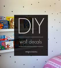 diy wall decal tutorial