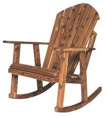adirondack rocking chair plastic. Wonderful Rocking Amish Cedar Wood Adirondack Rocking Chair Intended Plastic N