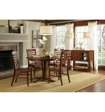 66 inch milano dining table espresso with roma chairs