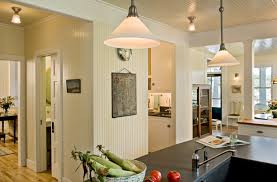 Kitchen Semi Flush Lighting Kitchen Beadboard Ceiling And Wall With Semi Flush Ceiling