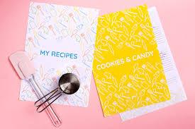 Recipe Binder Templates Diy Recipe Book With A Free Recipe Binder Printable Yes