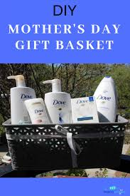mother s day diy gift basket idea with dove s the mama maven