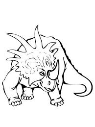 Styracosaurus Dinosaurus Kleurplaat Categorieën Styracosaurus