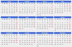 Calendario 2015 Calendarios 2015 Para Imprimir Calendarios Word Y