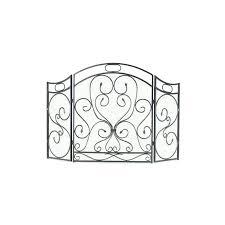 single panel fireplace screen pilgrim