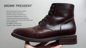 Thursday Boots Size Chart Thursday Boots Review 2 Years Later The President