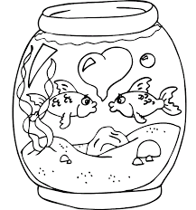 Small Picture Fish coloring pages in aquarium ColoringStar