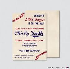 ... Baby Shower Invitations, Captivating Baseball Themed Baby Shower  Invitations Which Can Be Used As Baby ...