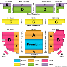 Waitress Seating Chart Seating Chart Brooks Atkinson Theatre New York New York