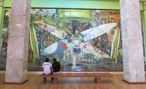 diego rivera murals rockefeller. Plain Murals If You Are Touring The Centro Historico Should Also Check Out  Original Famous El Cardenal Restaurant Calle Palma 23 For Lunch Throughout Diego Rivera Murals Rockefeller I