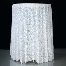 white table cloths inch round white sequin tablecloth overlay event decor group with regard to tablecloths white table cloths x inches