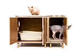 corner cat litter box furniture. Interior, Modular Cabinet Set Litter Hideaway Deluxe Pet House Modernist Cat Decent Furniture 8: Corner Box