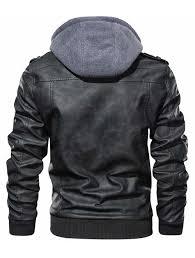 chouyatou <b>Mens</b> Vintage Stand Collar Zipper Front Fleece Lined ...