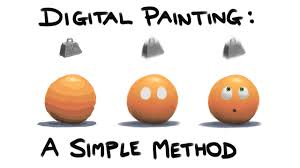 digital painting a simple method for beginneraybe experts too you