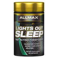 Lights Out Sleep Allmax Review Allmax Lights Out Sleep