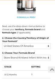 Baby Brezza Formula Settings June 2018 Babies Forums
