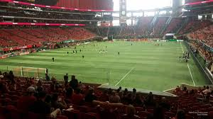 Atlanta United Seating Chart Mercedes Benz Mercedes Benz Stadium Section 117 Atlanta United