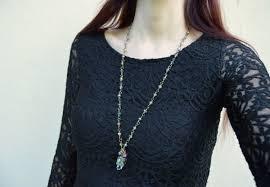swarovski crystal skull pendant large green crystal skull necklace gothic pendant memento mori