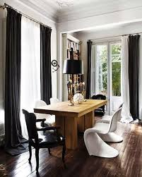 fabrics linens white and gray curtains in barcelona