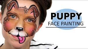 puppy dog face painting ashlea henson