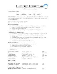 Samples Of Career Objectives For Resumes Career Objective Resume Examples Mwb Online Co