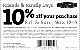 northern tool coupon. below are some of the coupons, special offers, and friends \u0026 family discounts that have been offered by orchard supply hardware in past. northern tool coupon