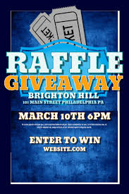 Raffle Giveaway Template Postermywall