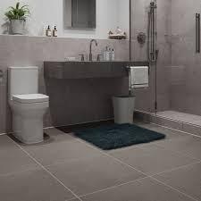 british ceramic tile light grey matt