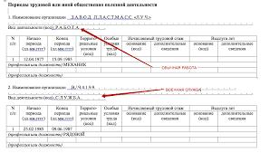 Отчет СЗВ К что это и кто сдает образец заполнения в году  Какие периоды до 2002 года включаются в стаж