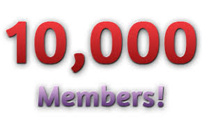 Image result for 10000 members