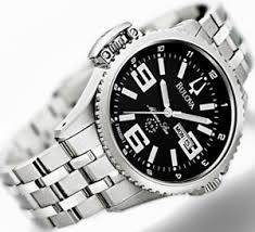 top ten watches as best st valentine gifts for men watches channel bulova men s marine star day date watch 96c001 is an extremely functional and elegant timepiece it is equally sporty and classy