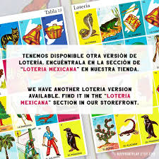Every image has a name and an assigned number, but the number is usually ignored. Juego De Loteria 40 Mexican Loteria Cards Loteria Mexicana Imprimible Paper Party Supplies Party Favors Games Kromasol Com