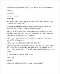 complaint letter examples examples of formal emails example of a formal letter 21 best