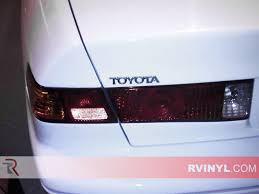 Rtint® Toyota Camry 1997-2001 Tail Light Tint|Film
