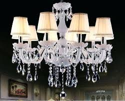 garden candle chandelier crystal light white modern minimalist living room dining garden candle chandelier