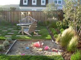 Kid-friendly Backyard traditional-landscape