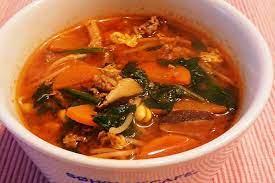ユッケ ジャン スープ