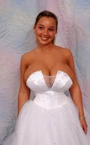 Wedding fetish huge boobs