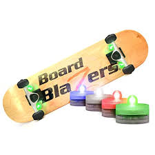 board blazers the original led underglow lights for skateboards longboards self balancing scooters