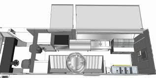 food truck floor plans. Food Truck Floor Plans Awesome Frightening Design With Bathroom Plan