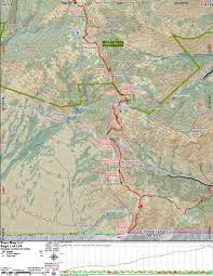 Tucson Elevation Chart Topo Map