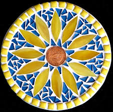 student mosaic art pot stand beth s pot stand