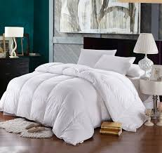 com queen size down comforter 500 thread count down comforter 100 percent cotton 500 tc 750fp 50oz solid white home kitchen