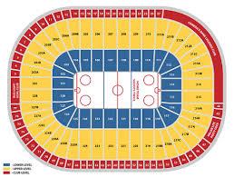 Joe Louis Arena Seating Map Map 2018