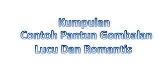 Pantun Gombal Yg Singkat
