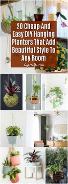 20 Cheap And Easy DIY Hanging Planters That Add Beautiful Style To Any Room