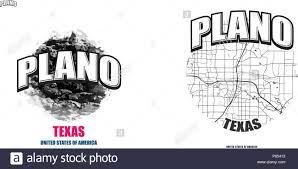 Logo Design Plano Tx Plano Texas Logo Design Two In One Vector Arts Big Logo
