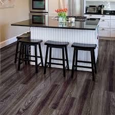 Vinyl Flooring Kitchens 6 In X 36 In Satin Oak Resilient Vinyl Plank Flooring 24 Sq Ft