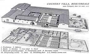 ancient roman villas floor plans inside an villa diagram modern
